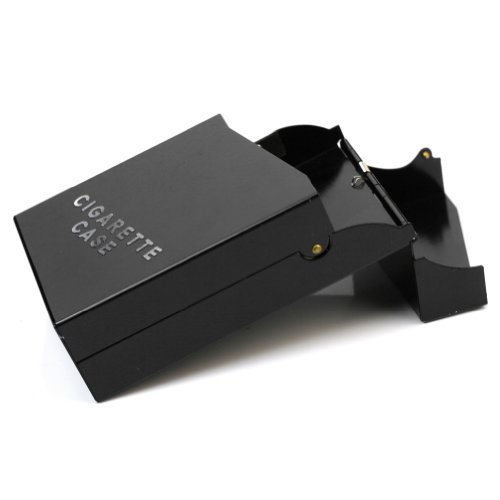 Elegant Travel Aluminum Cigarette Tobacco Case Box Holder 20Pcs Easy Carry