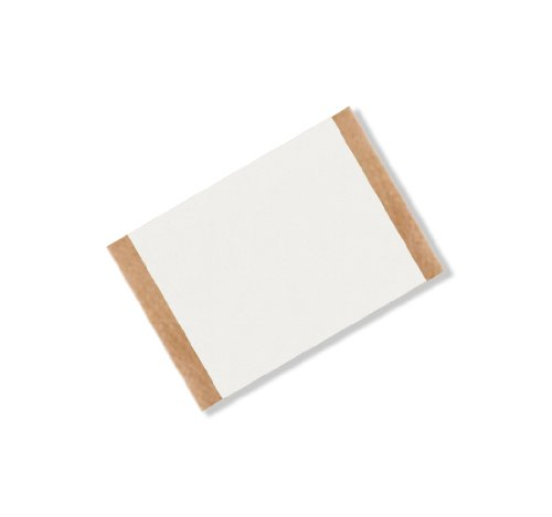 TapeCase VF16W 1.5 x 1.25-25 White Double Coated Vinyl Foam Tape, -18 to 107 Degrees Celsius Temperature Range, 0.063 Thick, 1.25 Length, 1.5 Width (Pack of 25) feng ling sb5512 ultrathin young model double eyelid tapes white yellow 240 pieces pack