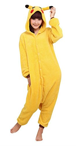 Pokemon Pikachu Pajamas Halloween Costume
