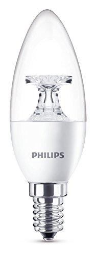 Philips Lampadina LED, E14, 4 W Equivalenti a 25 W, Luce Bianca Naturale Calda