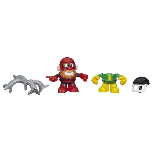 Playskool Mr. Potato Head Marvel Mixable Mashable Heroes as Spider-Man and Doc Ock, 2-Inch - 1