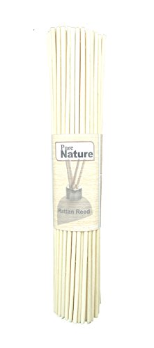 Pure Source Reed Sticks 8 Inch 25 Pcs In One Bunch To Use For Reed Diffuser Oil (25)