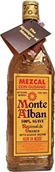 Monte Alban Mezcal, With Free Worm Bottle 700 ml by Sazerac Mexico