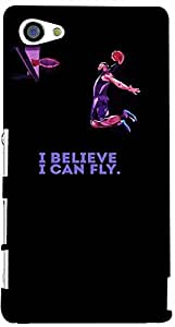 PRINTVISA Quotes Attitude Fly Case Cover for Sony Xperia Z5 Compact