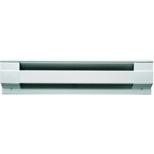 2,500 Watt Wall Mounted Electric Convection Baseboard Heater Finish: White (Electric Wall Heater Convection compare prices)