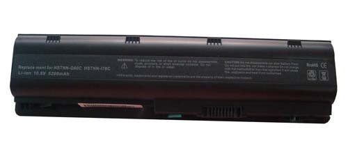 High Performance 5200mah 6 Cell 10.8V Black Laptop Battery for HP Compaq compatible models