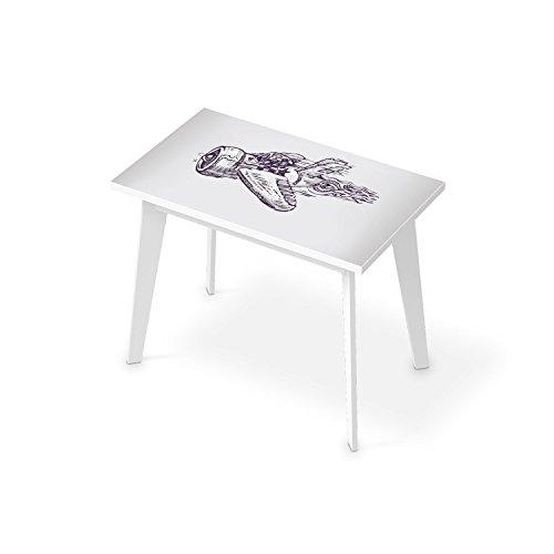 schreibtisch dekorationsaufkleber f r tisch 100x60 cm bedruckte klebe folie tischfolie. Black Bedroom Furniture Sets. Home Design Ideas