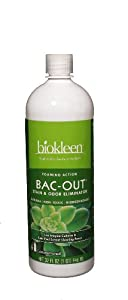 Biokleen Bac-Out Stain & Odor Eliminator with Live Enzyme Cultures 32 fl oz (946 ml)