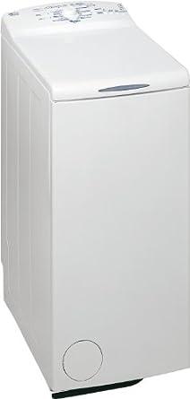 Whirlpool AWE 5105 Waschmaschine Toplader / AAC / 1000 UpM / 5 kg / 0.85 kWh / Weiß / Startzeitvorwahl / 1-Knopf-Bedienung