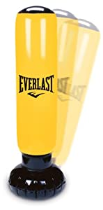 Everlast Sac de frappe gonflable Power Tower, Jaune/noir