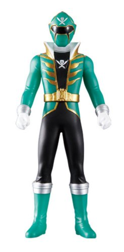Gokai Green Vinyl Figure
