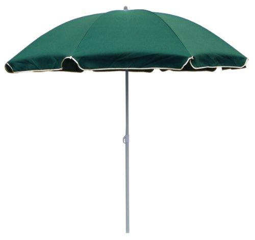 BEACH UMBRELLA: Strandschirm Sonnenschirm, 180cm, grün günstig