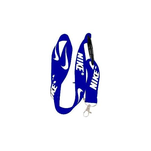 Amazon.com : Nike Royal Blue Cell Phone Lanyard Keys ID