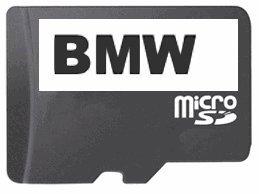 BMW de l'ouest et est sur carte sD-card
