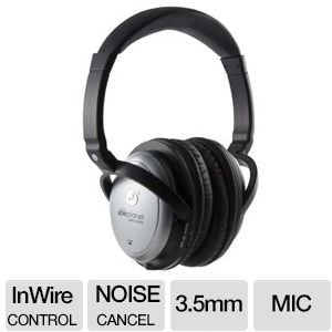 Able Planet Sound Clarity Active Noise-Cancelling Flat-Fold Headphones