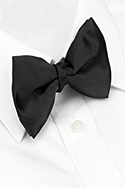 Eveningwear Plain Bow Tie