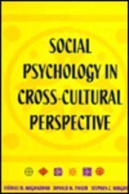 Social Psychology in Cross-Cultural Perspective
