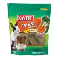6 PACK NIBBLER, Color: CARROT; Size: 4 OUNCE (Catalog Category: Small Animal:FOOD)