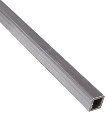 Fiberglass Hollow Rectangular Bar, Gray