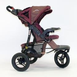 Baby's Store |   Go-Go Babyz Urban Advantage Stroller – Chocolate Berry
