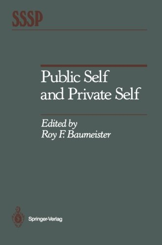 Public Self and Private Self (Springer Series in Social Psychology)