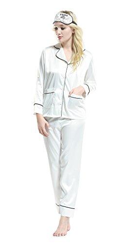 Pink -  Pigiama due pezzi  - Donna 16-81068 White Medium