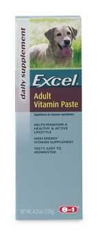 Eight In One Products K703 Excel Enervite Adult Dog Vitamin Paste 4.25oz