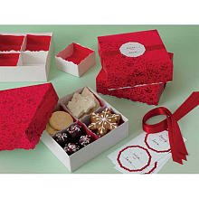 Martha Stewart Crafts Holiday Scandinavian Compartment Treat Box