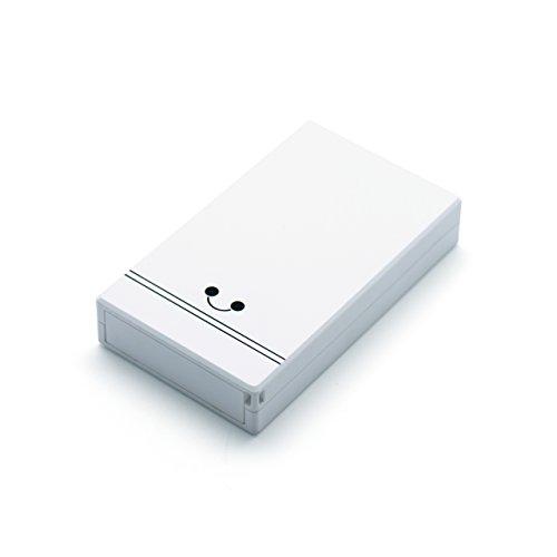 IoT機器対応 cheero CANVAS 3200mAh モバイルバッテリー (ホワイト) [ 高品質Panasonic電池搭載 ] 大容量 軽量 急速充電 Raspberry Pi / ichigoJam / マイコン / ワンボードコンピューター / シングルボードコンピューター / iPhone 6s / 6s Plus / 6 / 6 Plus / 5s / 5c / 5 / iPad / iPad mini / iPad Air / iPod nano / iPod touch / Android / Xperia / Galaxy / 各種スマホ / タブレット / Wi-Fiルーター 等 対応