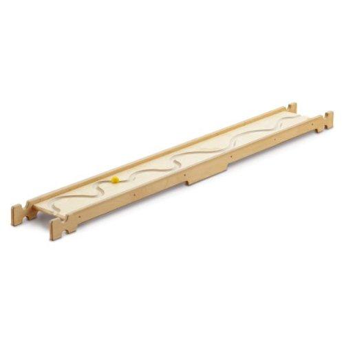 Erzi Balancierbrett Flusslauf, Gleichgewichtsbrett, Fühlbrett, aus Birkensperrholz, Maße 190 x 24 x 8,5 cm, natur-gelb online bestellen