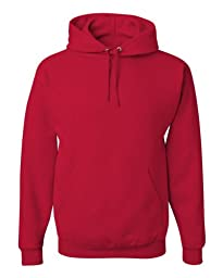 Jerzees 996 Adult NuBlend Hooded Pullover Sweatshirt - True Red, 5XL