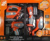 The Home Depot Deluxe Power Tool Set (Toy) (Home Depot For Kids compare prices)