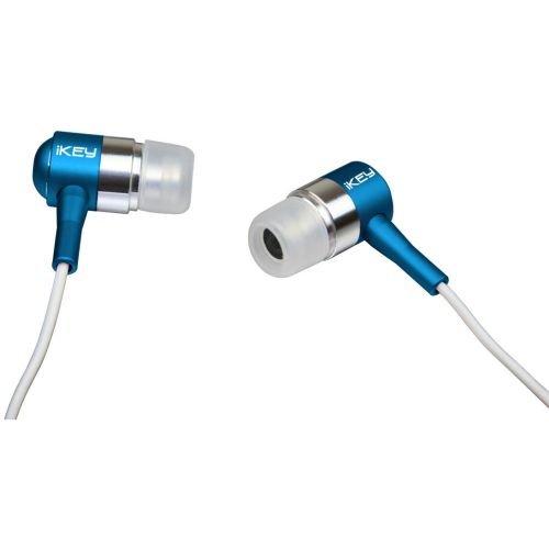 Ikey Audio E180 Ear Drumz Earbuds, Blue