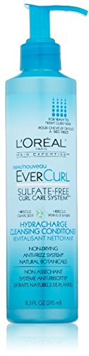 L'Oreal Paris EverCurl Hydracharge Cleansing Conditioner, 8.3 Fluid Ounce