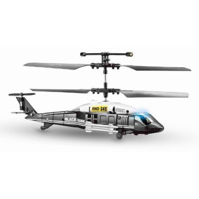 Blackhawk 3CH Military RC Micro Helicopter with Gyro (Assorted Color) with Mini Tool Box (fs)