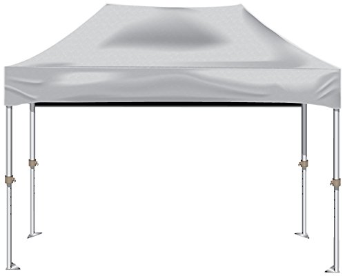 Kd Kanopy Xtf150W Xtf Aluminum Frame Indoor/Outdoor Portable Canopy, 10 By 15-Feet, White