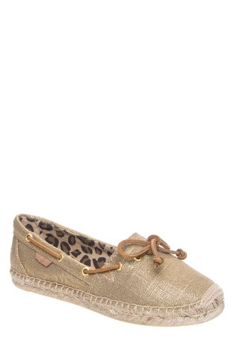 Katama Espadrille Flat Shoe