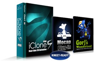 iClone5 Kinect Mocap Suite