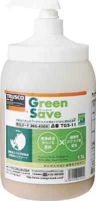 TRUSCO ハンドソープ・グリーンセーブ・詰替パック・1.0L TGSー10C