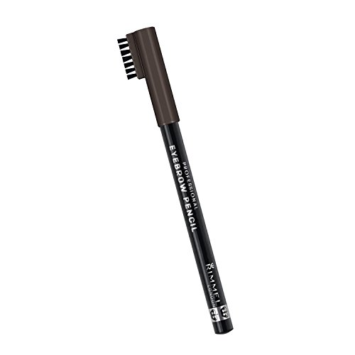 Rimmel London, Matita per sopracciglia, Black /Brown, 3 pz., 1,4 g
