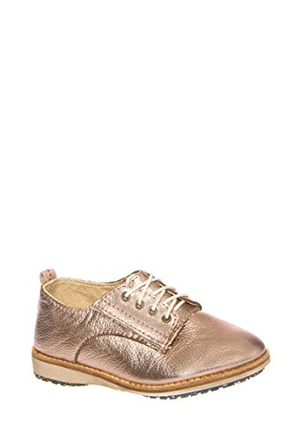 Girl's Derby Metallic Oxford