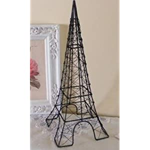 Wire Eiffel Tower Jewelry Stand 18