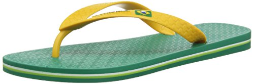 Ipanema Flag Infradito da Uomo, Verde (Green/Yellow), 45