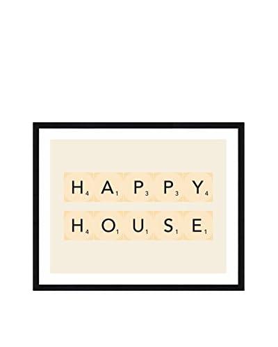 Really Nice Things Cuadro Happy House Crudo