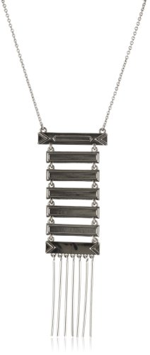 House of Harlow 1960 Silver-Plated Totem Pole Necklace