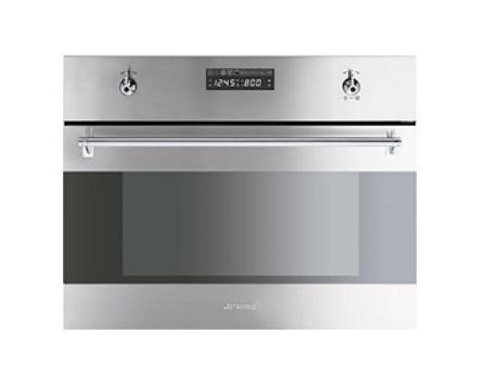 Smeg Classic Steam Oven - Integrated - S45VCX2 - Stainless Steel