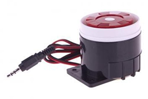 Amaranteen - Dc 12V Wired Siren Siren Horn For Home Security Gsm Alarm System