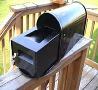 Small Standard Locking Mailbox Insert With New Black