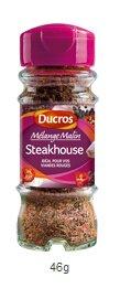 DUCROS - Melanges - Melange en flacons - Melange malin Steakhouse - 46 g