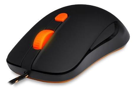 SteelSeries Kana Black Mouse [Edizione: Regno Unito]